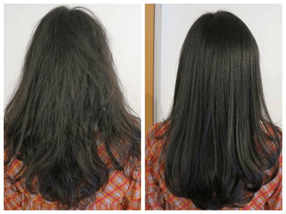 The difference between using conditioner and not using conditioner