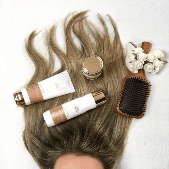 You should not over-rinse your hair after using conditioner