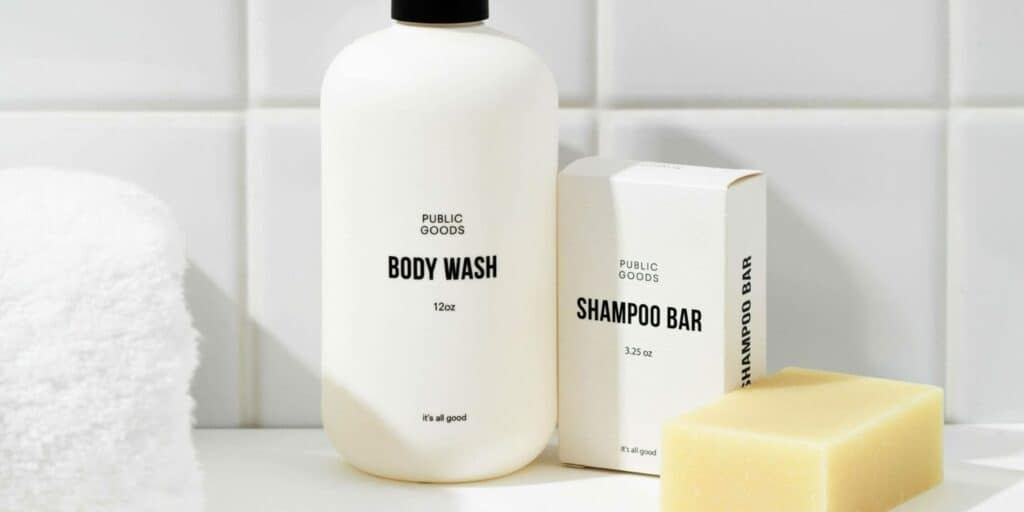 You should not replace body wash with shampoo