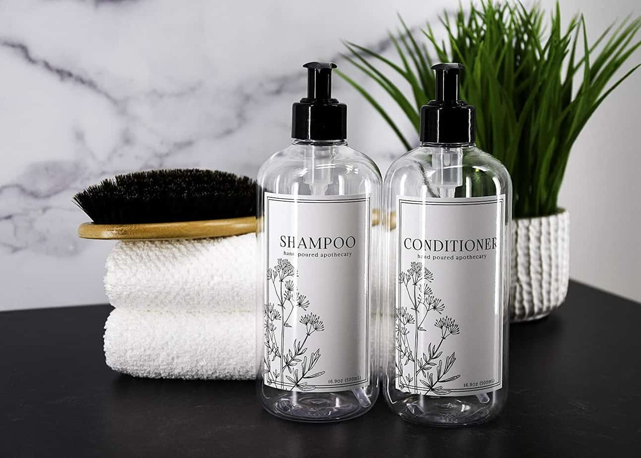 If the shampoo and conditioner freeze, will the container crack?