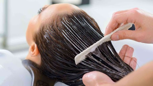 Keratin conditioner can restore your hair if used properly