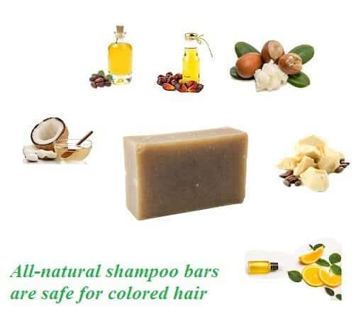 Shampoo Bars Are Safe For Colored Hair