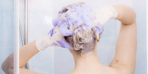 Bathing in a proper manner to avoid side effect