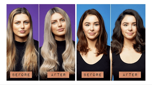 Blue shampoo might be your choice if you have brown/dark hair.