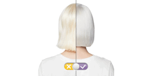Before And After Using Purple Shampoo On White Hair
