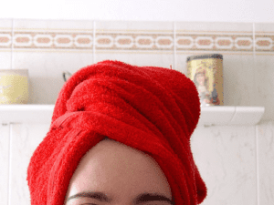 Avoid Drying Your Hair With A Towel